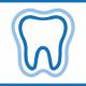bilde av tann med tannhelseforsikring